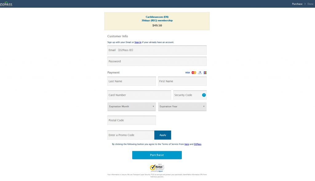 Payment Caribbeancom